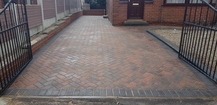 block paving driveway. repaired in Wakefield