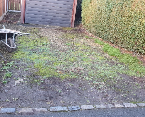 gravel driveway Hemsworth