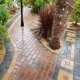 block paving around trees