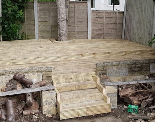 decking completed in Leeds